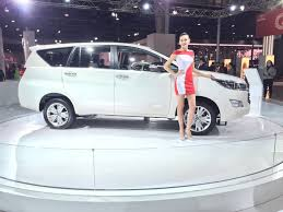 top toyota cars toyota cars at auto expo 2016 new innova launch price