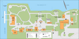 map of the pearl harbor visitor center world war ii valor in the