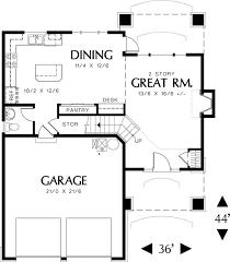 Craftsman Style Open Floor Plans 113 Best House Plans Images On Pinterest House Floor Plans