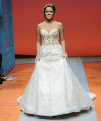 alfred angelo wedding dress disney fairy tale weddings by alfred angelo bridal fashion week photos