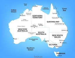 Australian Map Geography Blog Political Maps Australia