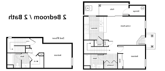floor plan ideas home design 87 excellent 2 bedroom bath floor planss