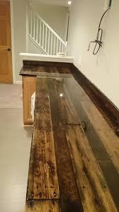 Diy Kitchen Countertop Ideas by Wood Kitchen Countertops Diy Reclaimed Wood Countertop After