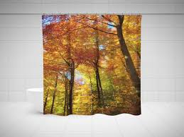 Fall Color Curtains Fall Color Curtains Beautiful Fall Color Shower Curtains Shower