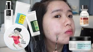 korean skincare routine for oily acne prone skin youtube