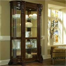 Wall Curio Cabinet Glass Doors Curio Cabinets With Glass Doors Corner Curio Cabinets With Glass