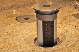 kitchen island electrical outlet extraordinary pop up outlet for kitchen island astonishing outlets
