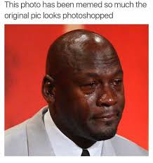 Memed Diagnostics - this photo has been memed so much the original pic looks