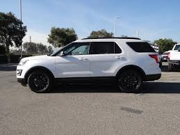 Ford Explorer White - 2017 ford explorer xlt for sale in fontana ca 1fm5k7d80hgb14877