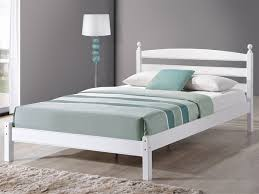 4ft Wooden Bed Frame Birlea 4ft Oslo Small White Wooden Bed Frame