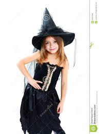 Girls Witch Halloween Costumes Halloween Costume Royalty Free Stock Photos Image 34557548