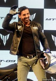 brand ambassador john abraham for yamaha and nissan at auto expo