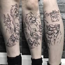 lion king tattoo simba nala rafiki and mufasa tattoo ideas