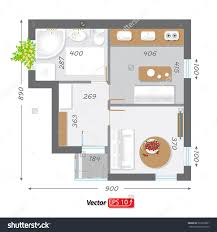 part of architectural project ground floor plan floorplan house part of architectural project ground floor plan floorplan house home building architecture blueprint layout detailed