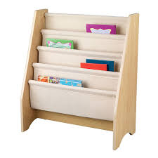 Kid Bookshelves by Kidkraft Sling Bookshelf Natural Nursery