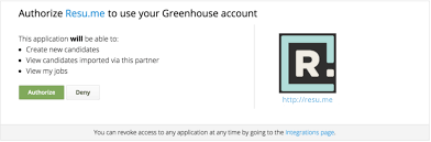 how to write a resume for a job application candidate ingestion api greenhouse once the oauth process is complete and the user grants the partner permission to access their data on greenhouse the partner will receive an access token
