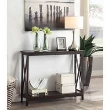 Zipcode Design Console Table Zipcode Design Gwyneth Console Table Color Cappuccino Products