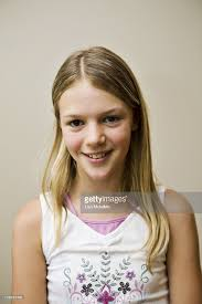 11 year old girl portrait of 11 year old girl stock photo getty images