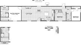 Single Wide Mobile Home Floor Plans 2 Bedroom by The Cambridge