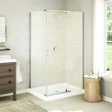 architecture exciting corner shower stalls with frameless shower