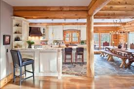 hybrid kitchens custom hybrid log homes amp timber frame homes photo gallery with