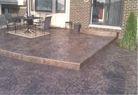 Concrete Patio Vs Pavers Pros And Cons Of Sted Concrete Vs Interlock Pavers Imagineer