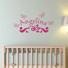 Monogram Wall Decals For Nursery 23 Best Monogram Wall Decals Images On Pinterest Monogram Wall