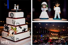 z cake toppers a wedding in the sky eastside cannery vegas wedding