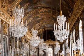 versailles chandelier hall of mirrors palace of versailles france photograph by jon berghoff