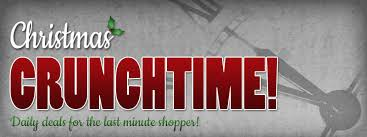 crunchtime daily deals and giveaways for the last minute