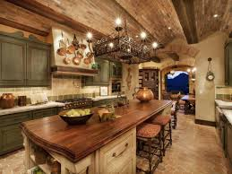 Rustic Kitchen Cabinets Pictures Ideas  Tips From HGTV HGTV - Rustic kitchen cabinet