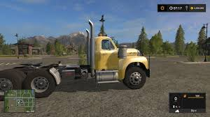 Old Ford Truck Games - old mack b61 v8 truck v1 0 fs17 farming simulator 17 mod fs