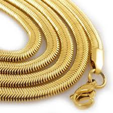 gold chain necklace snake images 18k gold herringbone snake chain niv 39 s bling jpg