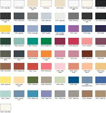 kwal interior paint color chart home painting