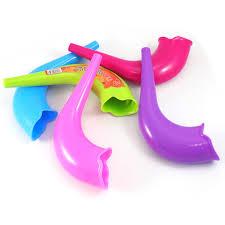 plastic shofar multi color plastic shofars