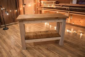 cedar console table u2014 bryant barn