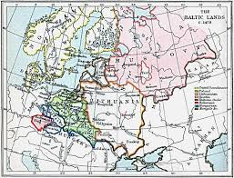 Medieval Maps Maps Of The Baltic Lands 1000 A D 1809 A D Perry Castañeda