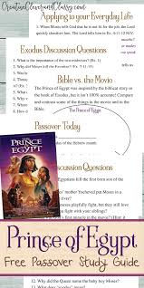 prince egypt study guide discussion questions