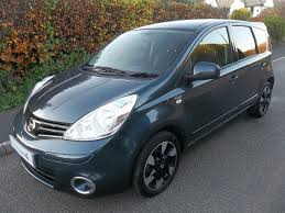 nissan note 2012 nissan note 1 6 n tec 5dr auto haptic blue 2012 in sidmouth