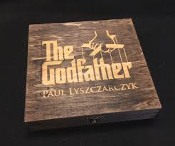 the godfather inspired cigar box great groomsmen gifts