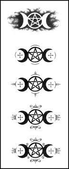 goddess temporary moon goddess pattern