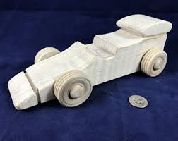 wooden race car etsy