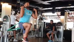 Teh Fitne pics here is a sneak peak in the fitness session of indian