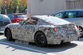 toyota supra spied toyota supra caught testing for the first time motor trend