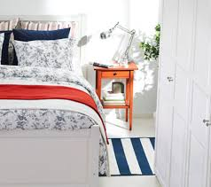 Ikea Bed Table by Bedroom Ideas Admiral Small Ikea Bedroom For Teenage Striped