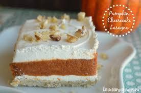 pumpkin cheesecake lasagna dairy on the prairie