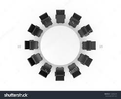 Dining Room Table Clipart Black And White Top View Of A Conference Room A White Rectangular Table And Eight