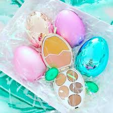 easter eggs surprises tam beauty eggs eye shadow and highlighter palette
