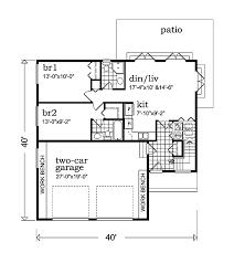 Tudor Floor Plan House Plan 55555 At Familyhomeplans Com