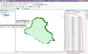 Find Map Coordinates Arcmap How To Get X Y Coordinates Of All Vertices From Polygon
